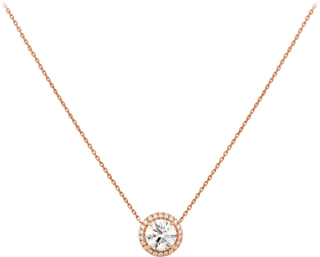 Cartier Destinée necklacePink gold, diamonds