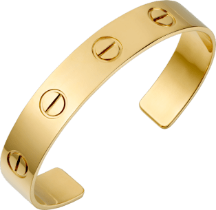 Love bracelet Yellow gold