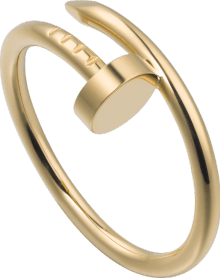 Juste un Clou ring SM Yellow gold