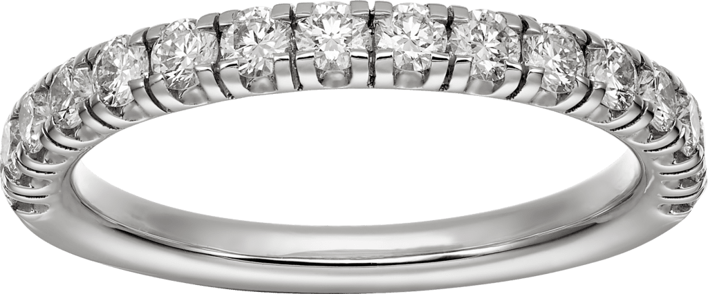 Étincelle de Cartier wedding bandPlatinum, diamonds