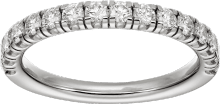 Étincelle de Cartier wedding band Platinum, diamonds