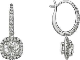 Cartier Destinée earrings White gold, diamonds