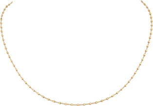 Chain necklace Yellow gold