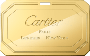 Guirlande de Cartier bag, small model Camel-colored calfskin, golden finish