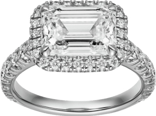 Cartier Destinée Ring Platinum, diamonds