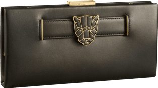 Panthère de Cartier clutch bag Bronze lambskin, gold finish