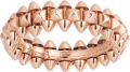 Clash de Cartier ring Small Model Pink gold