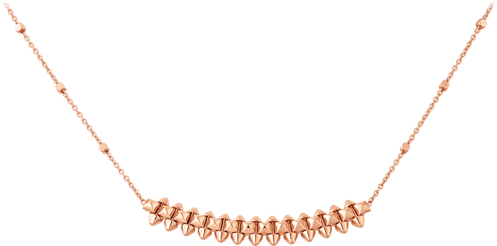 Clash de Cartier necklace Small ModelPink gold