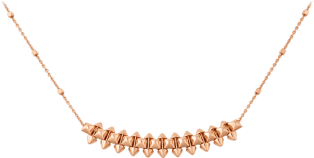Clash de Cartier necklace Medium Model Pink gold