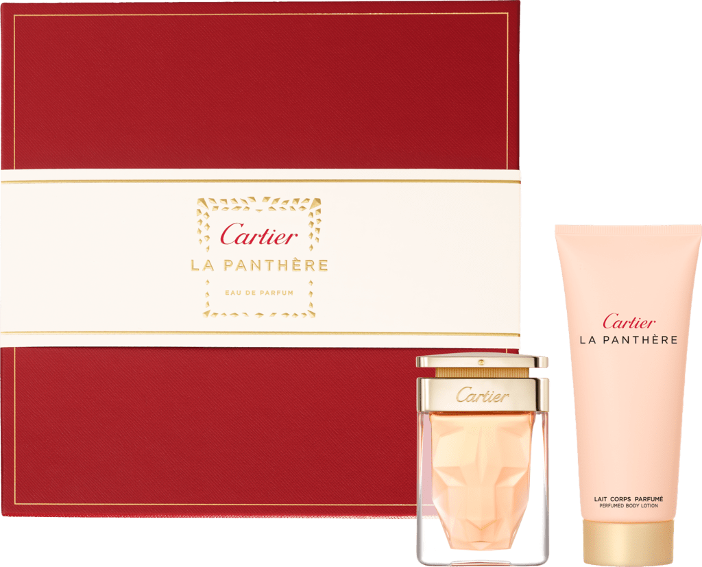La Panthère 50 ml Eau de Parfum gift set with 100 ml Shower gelBox