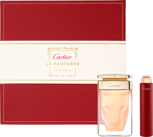 La Panthère Eau de Parfum gift set and Purse spray Box