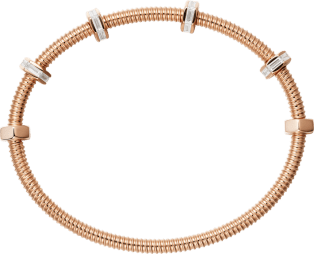 Ecrou de Cartier bracelet Pink gold, diamonds