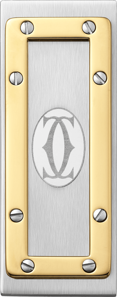 Santos de Cartier money clipStainless steel, gold-finish metal
