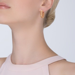 Clash de Cartier earrings Small Model Pink gold