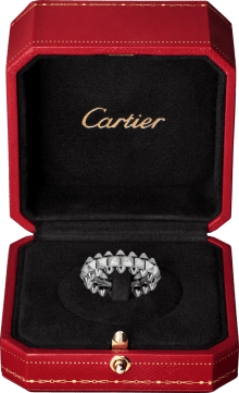 Clash de Cartier ring Medium Model White gold