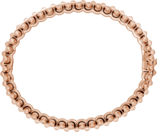 Clash de Cartier bracelet Medium Model Pink gold