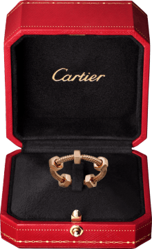Ecrou de Cartier ring Pink gold