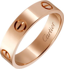 Love ring Pink gold