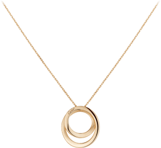 Etincelle de Cartier necklace Pink gold, diamonds