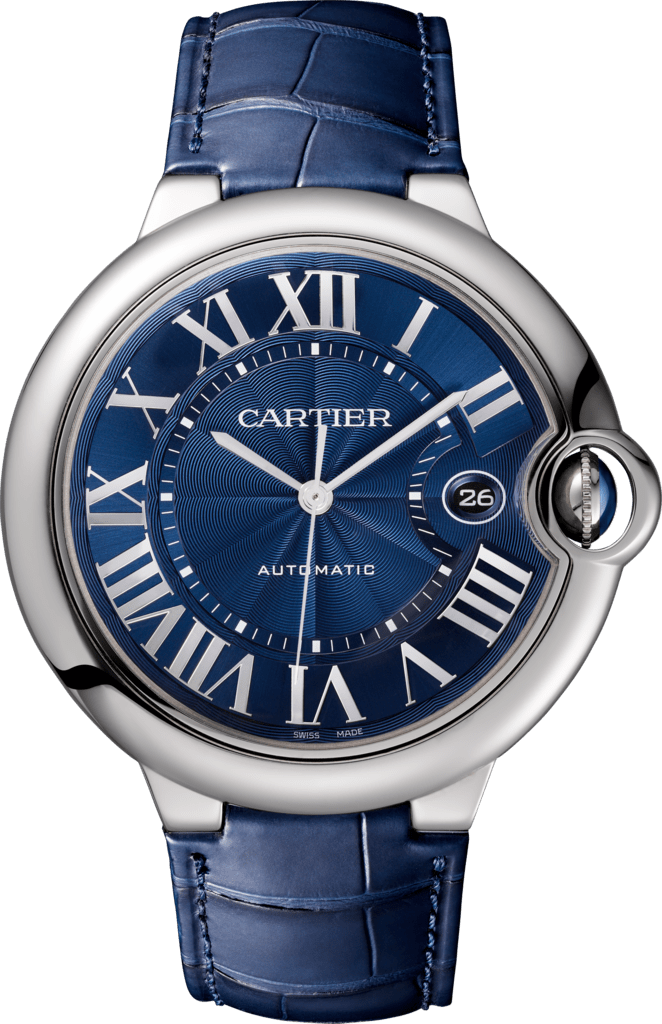 Ballon Bleu de Cartier watch42 mm, steel