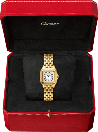 Panthère de Cartier watch Small model, yellow gold