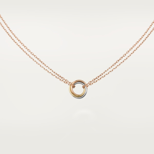 Trinity necklace White gold, yellow gold, rose gold