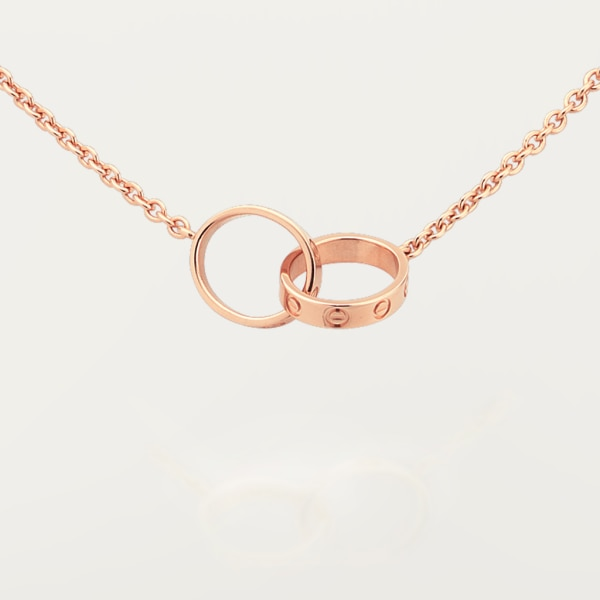 Love necklace Rose gold