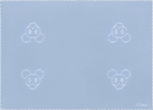 Cartier Baby mouse blanket Merino wool and cashmere