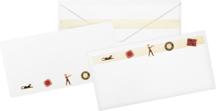 Diabolo de Cartier cards and envelopes Paper sourced from sustainably managed forests
