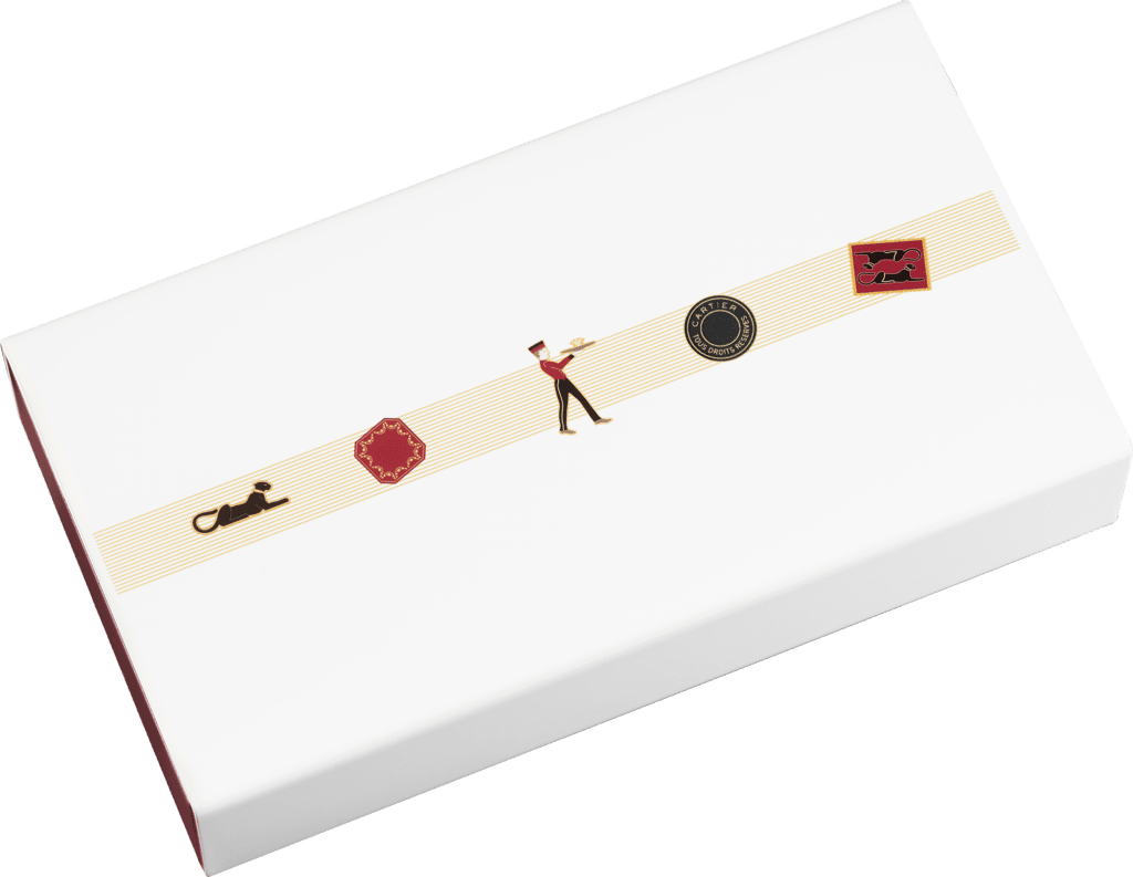 Diabolo de Cartier stationery box setLacquered metal and wood, with paper sourced from sustainably managed forests