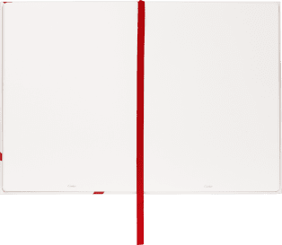 Entrelacés de Cartier guest book Paper sourced from sustainably managed forests