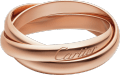 Trinity ring, small model Rose gold