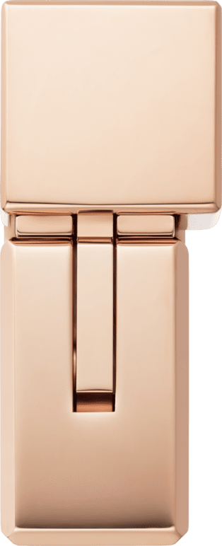 Square braided décor lighter Square braided décor lighter. rose golden finish. Dimensions: 38 mm x 15.5 mm x 50 mm