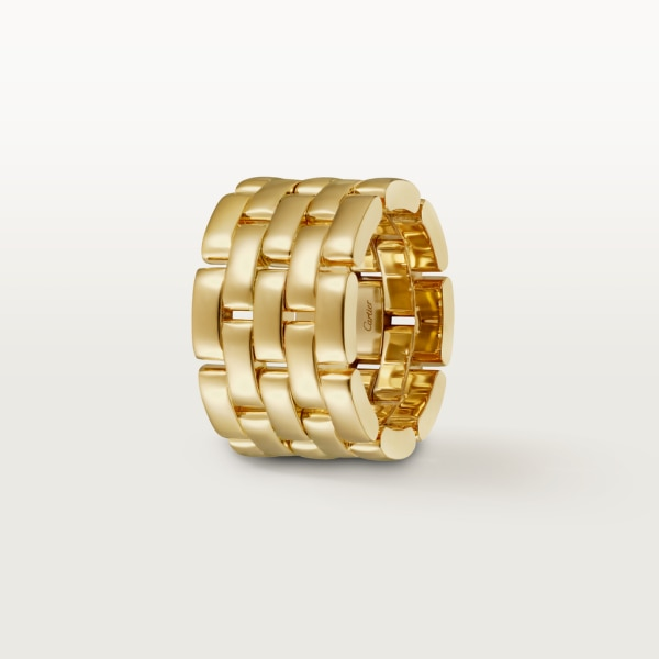 Maillon Panthère ring Yellow gold