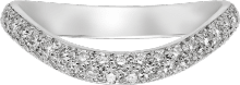Trinity Ruban wedding band Platinum, diamond