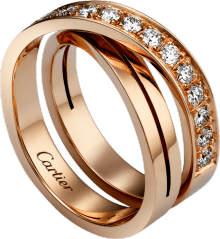 Etincelle de Cartier ring Pink gold, diamonds