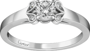 Ballerine Solitaire Platinum, diamond
