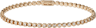 C de Cartier bracelet Pink gold, diamonds