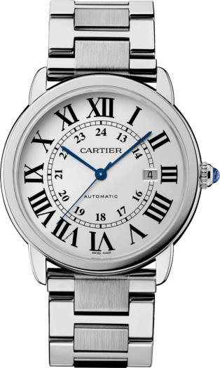 Ronde Solo de Cartier watch 42mm, automatic movement, steel