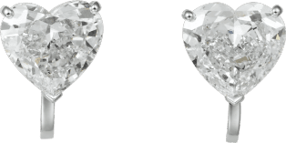High Jewelry 1895 earrings Platinum, diamonds