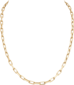 Santos de Cartier necklace Yellow gold
