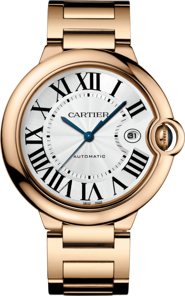 Ballon Bleu de Cartier watch42 mm, 18K pink gold, sapphire