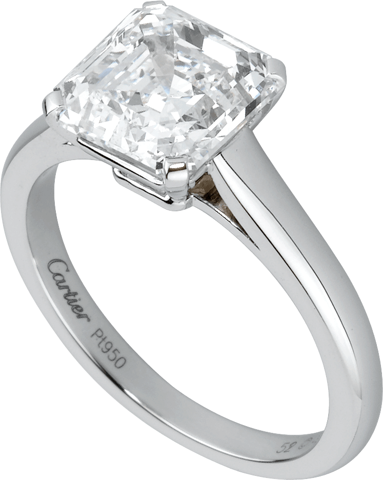 High Jewelry 1895 wedding bandPlatinum, diamond