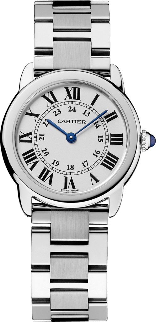 Ronde Solo de Cartier watch29 mm, steel
