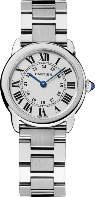 Ronde Solo de Cartier watch 29 mm, steel
