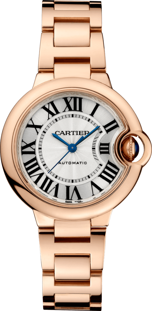 Ballon Bleu de Cartier watch33 mm, 18K pink gold