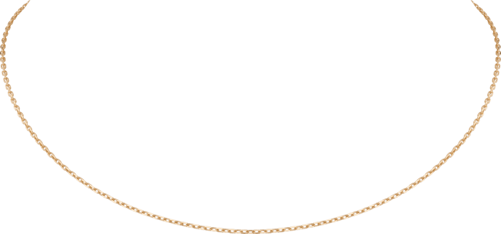 Chain necklaceYellow gold