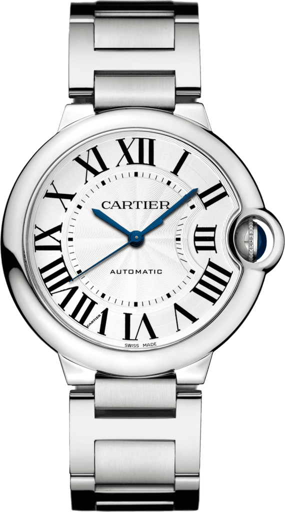 Ballon Bleu de Cartier watch36mm, automatic movement, steel