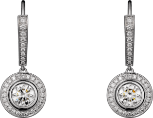 Cartier d'Amour earrings White gold, diamonds