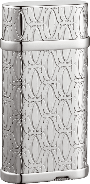 C de Cartier decor lighter Metal, palladium finish